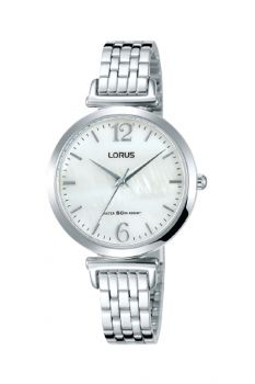 Lorus Ladies Stainless Steel Watch   RG227NX9-LNP