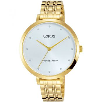 Lorus Ladies Gold Plated Watch   RG228MX9-LNP