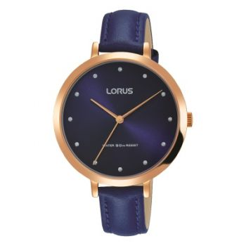 Lorus Ladies Leather Strap Watch    RG230MX9-LNP