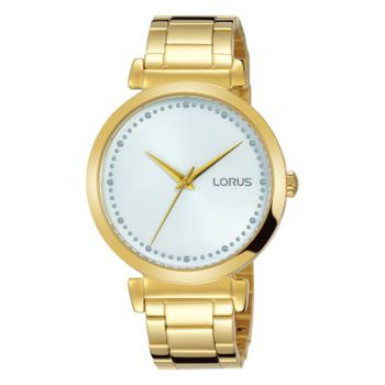 Lorus Ladies Gold Plated Watch    RG240MX9-LNP