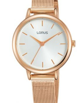 Lorus Ladies Rose Gold Plated Watch    RG246NX6-LNP