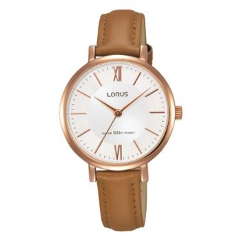 Lorus Ladies Rose Gold Plated Watch -   RG262LX9-LNP