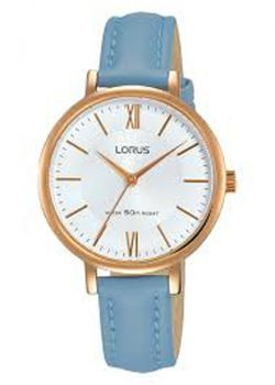 Lorus Ladies Leather Strap Watch   RG264LX5-LNP