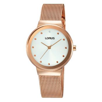 Lorus Ladies Mesh Bracelet Watch     RG266JX9-LNP