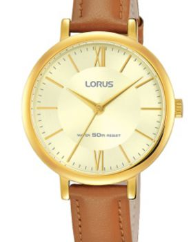 Lorus Ladies Leather Strap Watch    RG266MX9-LNP