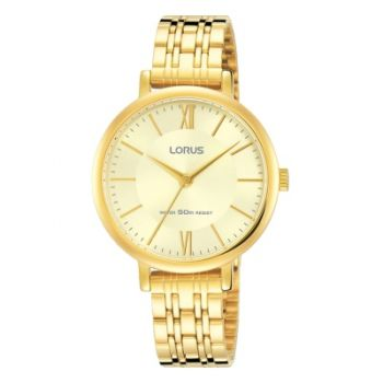 Lorus Ladies Gold Plated Watch    RG268MX9-LNP
