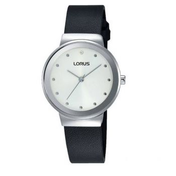 Lorus Ladies Leather Strap Watch LNP RG269JX9