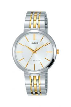 Lorus Ladies Two Tone Watch   RG279MX9-LNP