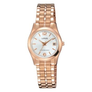 LNP   RH732BX9  Lorus Ladies Rose Gold Plated Watch