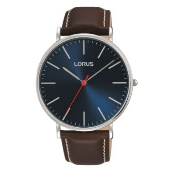 Lorus Gents Leather Strap Watch RH813CX9 LNP