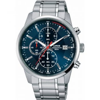 Lorus Mens Chronograph Watch - RM327DX9 NEW