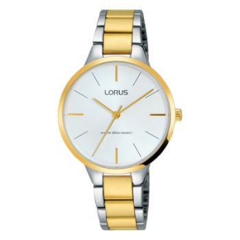 Lorus Ladies Two Tone Watch  LNP  RRS02WX9