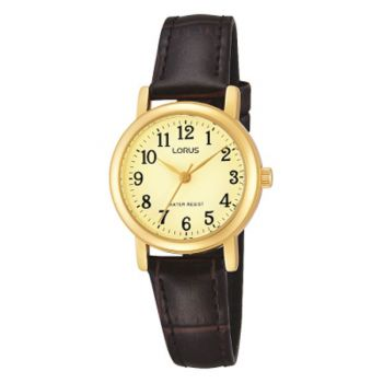 Lorus Womens Leather Strap Watch - RRS56UX9 LNP