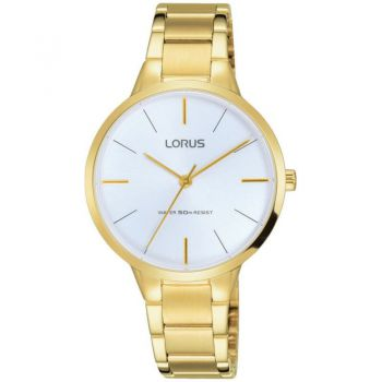 Lorus Ladies Gold Plated Watch   RRS98VX9-LNP