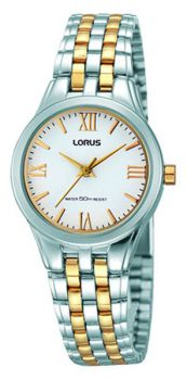 Lorus Ladies Two Tone Bracelet Watch  LNP RRS99TX9
