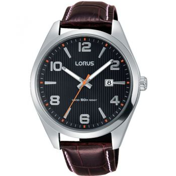Lorus Gents Leather Strap Watch    RH957GX9-LNP