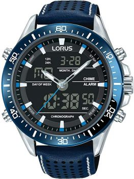 Lorus Gents Dual Display Watch - RW643AX9 NEW