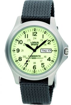Lorus Lumibrite Military Watch - RJ655AX9 NEW