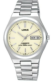 Lorus Gents Lumibrite Bracelet Watch - RXN31BX9 LNP