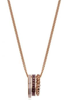 Radley 'Hatton Row' 925 Sterling Silver 18ct Rose Gold Plated Necklace RYJ2009 RJNP