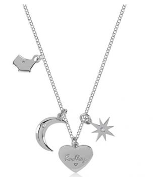 Radley London Heart Moon and Star Charm Necklace  RYJ2043 RJNP
