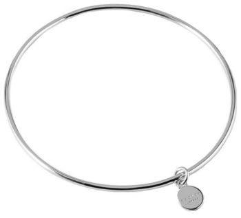 Radley 'Broad Street' 925 Sterling Silver Bangle (Medium/Large) RYJ3013 RJNP