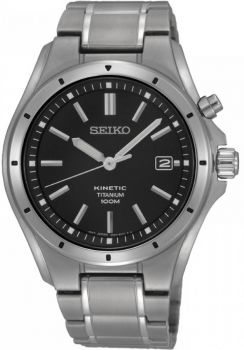 Seiko Gents Kinetic Titanium Watch SKA763P1-NEW