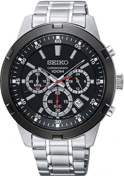 Seiko Gents Chronograph Watch SKS611P1 NEW