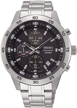 Seiko Gents Chronograph Dress Watch - SKS641P1 NEW