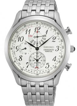 Seiko Gents Perpetual Calendar Watch SPC251P1 NEW