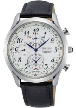 Seiko Gents Perpetual Calendar Watch SPC253P1 NEW