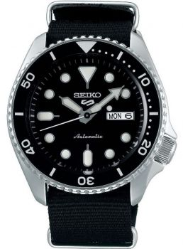Seiko 5 Gents Automatic Divers Style Sports Watch - SRPD55K3 NEW