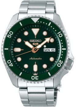 Seiko 5 Gents Automatic Divers Style Sports Watch - SRPD63K1 NEW