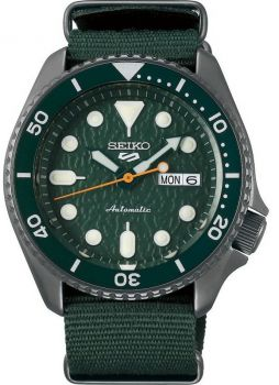Seiko 5 Gents Automatic Divers Style Sports Watch - SRPD77K1 NEW