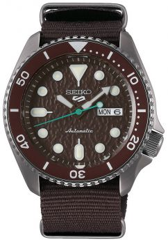 Seiko 5 Gents Automatic Divers Style Sports Watch - SRPD85K1 NEW