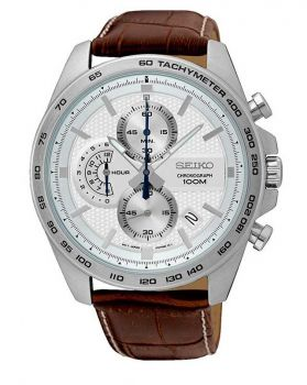 Seiko Gents Chronograph Watch - SSB263P1-NEW