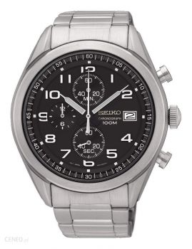 Seiko Gents Chronograph Bracelet Watch   SSB269P1-NEW