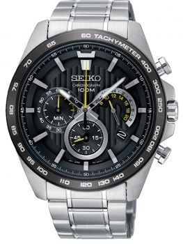 Seiko Gents Chronograph Date Display Watch SSB303P1 NEW