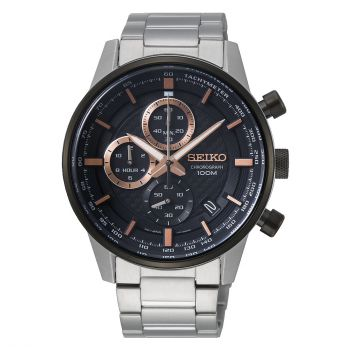 Seiko Gents Chronograph Watch - SSB331P1-NEW