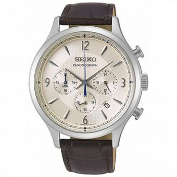 Seiko Gents Chronograph Date Display Watch - SSB341P1 NEW