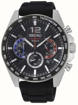 Seiko Gents Chronograph Date Display Watch - SSB347P1 NEW