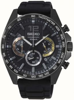 Seiko Gents Chronograph Date Display Watch - SSB349P1 NEW