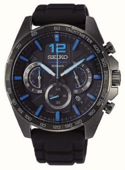 Seiko Gents Chronograph Date Display Watch - SSB353P1 NEW
