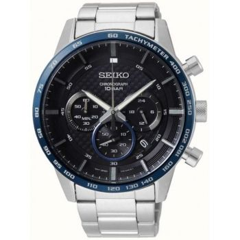 Seiko Gents Chronograph Watch - SSB357P1-NEW