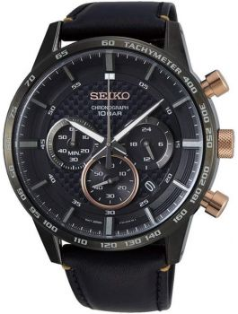 Seiko Gents Conceptual Chronograph Dress Watch - SSB361P1 NEW