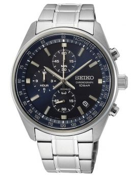Seiko Gents Chronograph Date Display Watch SSB377P1 NEW