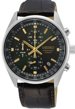 Seiko Gents Chronograph Date Display Watch SSB385P1 NEW