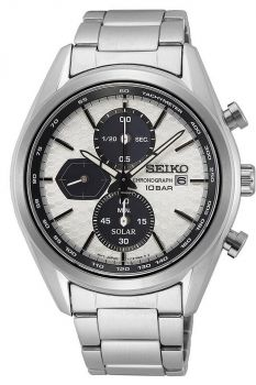Seiko Gents Solar Powered Watch - SSC769P1 NEW