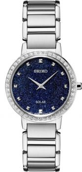 Seiko Ladies Solar Dress Watch SUP433P1 NEW