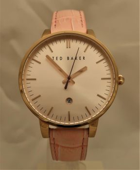 Ted Baker Ladies Kate Saffiano Watch - TE10030737-OS-TBNP